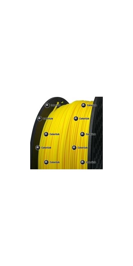 3D printer filament 3.00mm HIPS yellow 107C