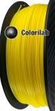 TPU 90A 3D printer filament 2.85 mm close to dark yellow 012 C