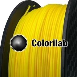 Filament d'imprimante 3D TPE80A 3.00 mm jaune foncé 109C
