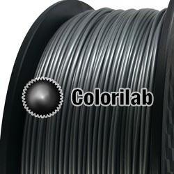 PLA-Flex 3D printer filament 3.00 mm close to silver 877 C