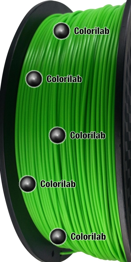 3D printer filament 1.75mm ABS green 7488 C