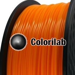 3D printer filament 3.00mm PLA close to orange 1375 C