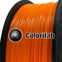Filament d'imprimante 3D 1.75 mm ABS orange 1375C