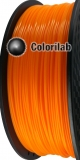 3D printer filament 1.75mm ABS orange 1375C