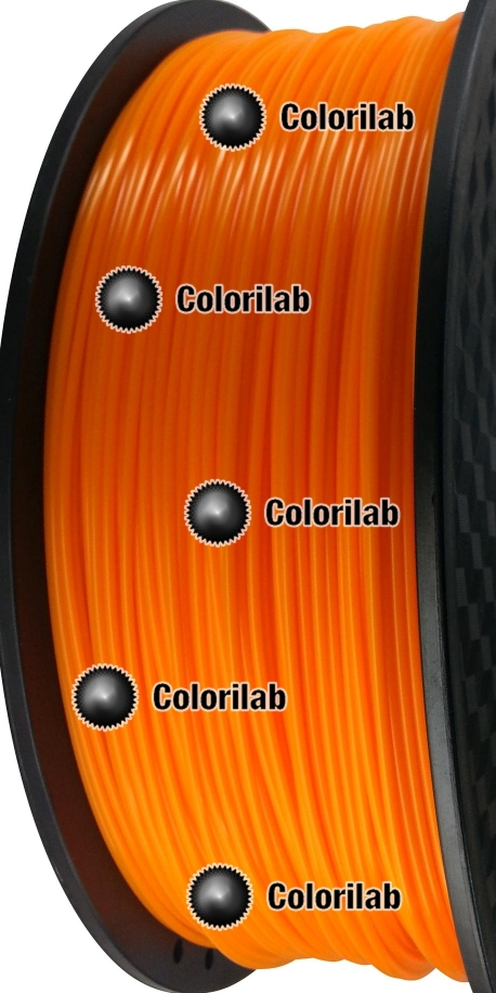 Filament d'imprimante 3D 1.75 mm HIPS orange 1375C
