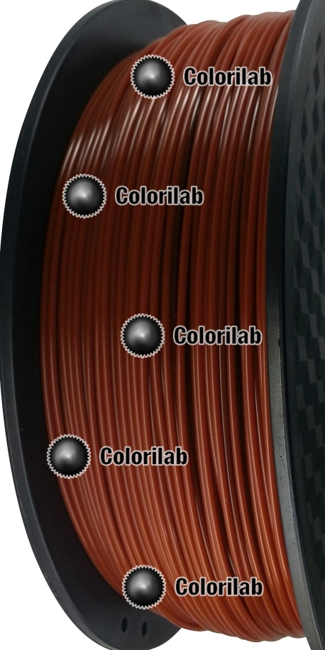 HIPS 3D printer filament 1.75 mm brown 7587C