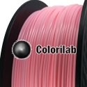 Filament d'imprimante 3D 1.75 mm ABS rose 182C