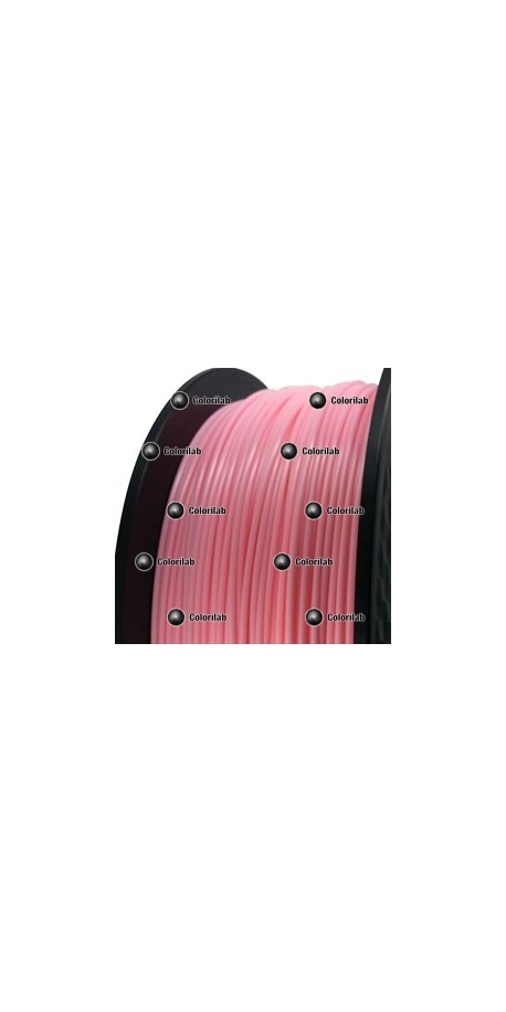 3D printer filament 3.00mm HIPS pink 182C