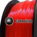 3D printer filament 3.00mm PLA fluorescent red 179C