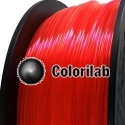 Filament d'imprimante 3D 1.75 mm ABS Fluorescent rouge 179 C