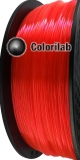 3D printer filament 1.75mm ABS fluorescent red 179 C