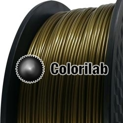 PLA-Flex 3D printer filament 1.75 mm gold 871C