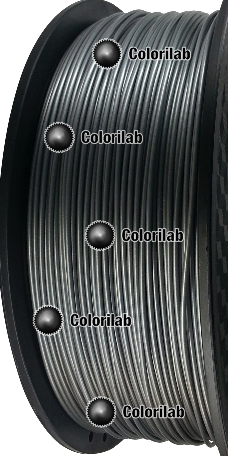 Filament d'imprimante 3D ABS 3.00 mm style acier 877C