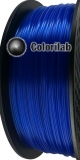 3D printer filament 1.75mm PLA translucent blue 293C