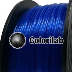 Filament d'imprimante 3D 3.00 mm ABS translucide bleu