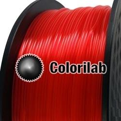Filament d'imprimante 3D 1.75 mm PLA translucide rouge 185 C
