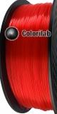Filament d'imprimante 3D 3.00 mm PLA translucide rouge 185 C