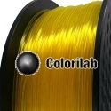 3D printer filament 1.75mm PLA translucent Yellow C