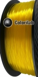 3D printer filament 3.00mm PLA translucent Yellow C