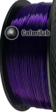 3D printer filament 1.75mm PLA translucent violet 2623 C