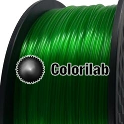 3D printer filament 3.00mm ABS translucent close to green 7739 C