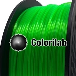 3D printer filament 1.75mm PLA fluorescent green 2252C