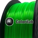 3D printer filament 3.00mm PLA fluorescent green 2252 C