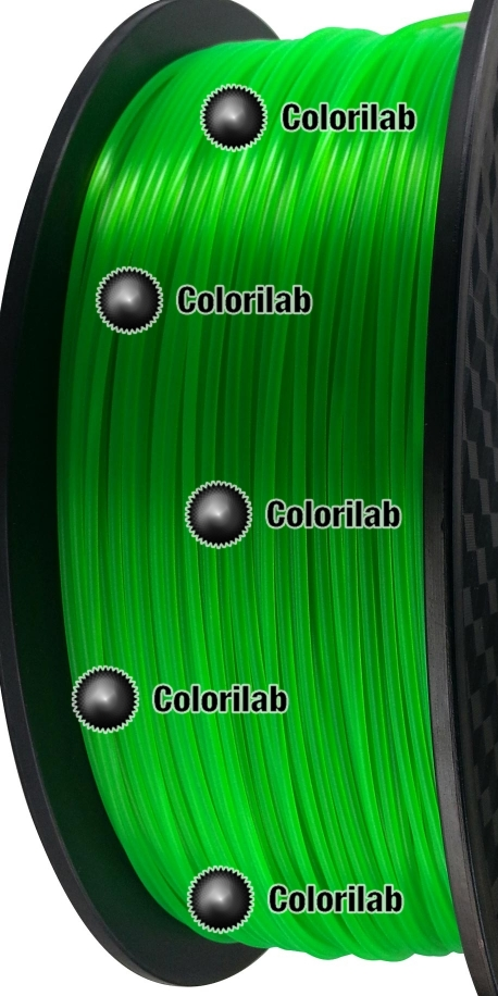 3D printer filament 1.75mm ABS fluorescent green 2252 C