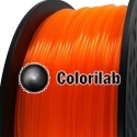 3D printer filament 3.00mm PLA fluorescent orange 2018C