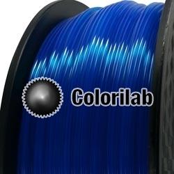 Filament d'imprimante 3D 1.75 mm PLA Fluorescent bleu 286 C