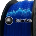 3D printer filament 1.75mm PLA fluorescent blue 286C