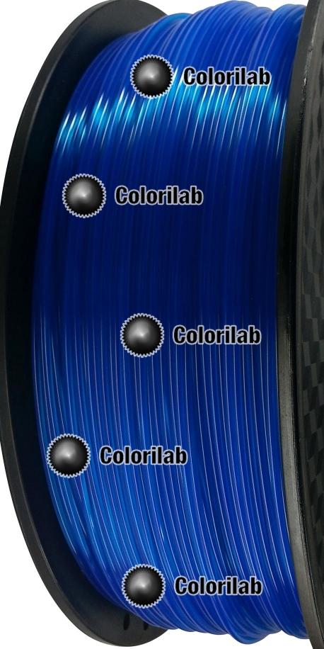 Filament d'imprimante 3D 3.00 mm PLA Fluorescent bleu 286 C
