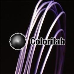 Filament d'imprimante 3D ABS 1.75 mm bleu espace 2766C