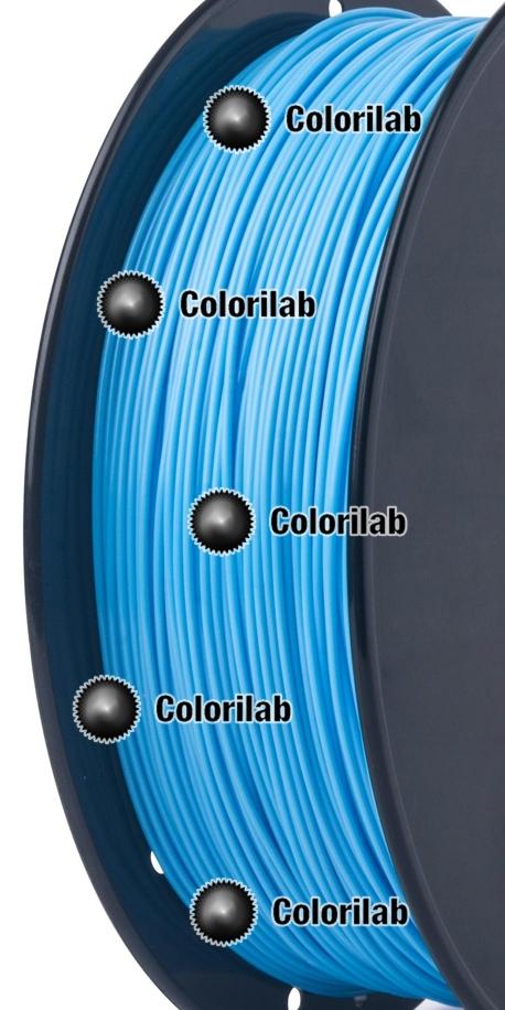 PLA 3D printer filament 1.75mm close to pale blue 2190 C