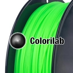 PLA 3D printer filament 1.75mm fluo green 802C