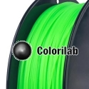 PLA 3D printer filament 3.00mm fluo green 802C