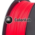 ABS 3D printer filament 3.00mm fluo red 1787C