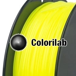 Filament d'imprimante 3D ABS 1.75 mm jaune fluo 382C