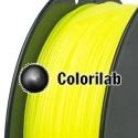 Filament d'imprimante 3D ABS 1.75 mm jaune fluo 382C