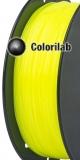 ABS 3D printer filament 1.75mm fluo yellow 382 C