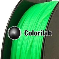 PLA 3D printer filament 1.75mm young green 2257C
