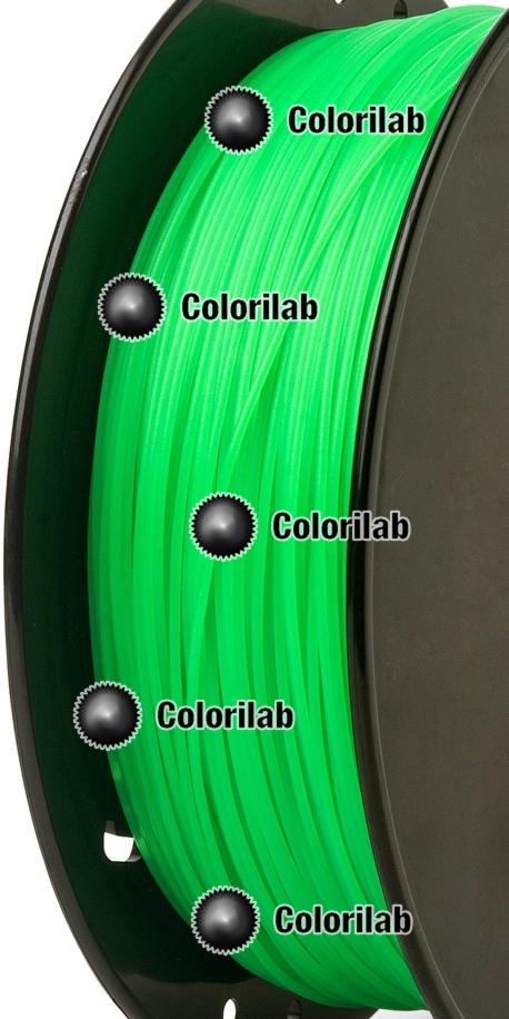 PLA 3D printer filament 1.75mm young green 2257C