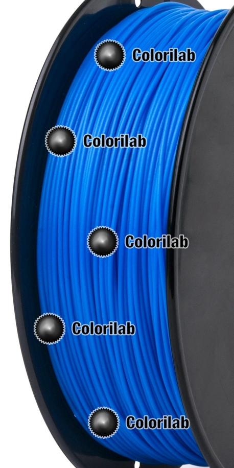 PLA 3D printer filament 1.75mm blue 2195C