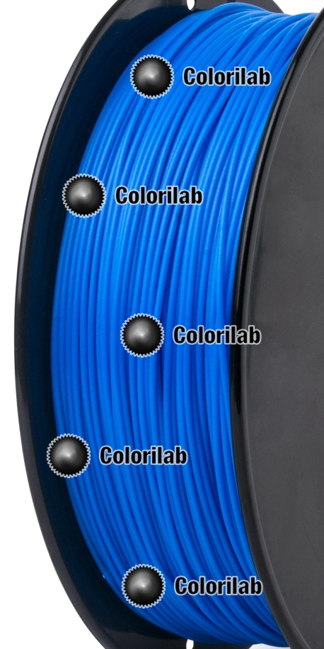Filament d'imprimante 3D PLA 3.00 mm bleu 2195C