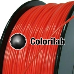 Filament d'imprimante 3D PLA 1.75 mm rouge 1795C