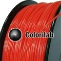 Filament d'imprimante 3D PLA 3.00 mm rouge 1795C