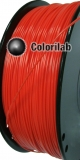 ABS 3D printer filament 1.75 mm red 1795C