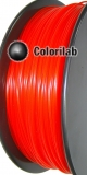 PLA 3D printer filament 1.75 mm translucent red 485C