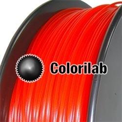 Filament d'imprimante 3D ABS 1.75 mm rouge translucide 485C