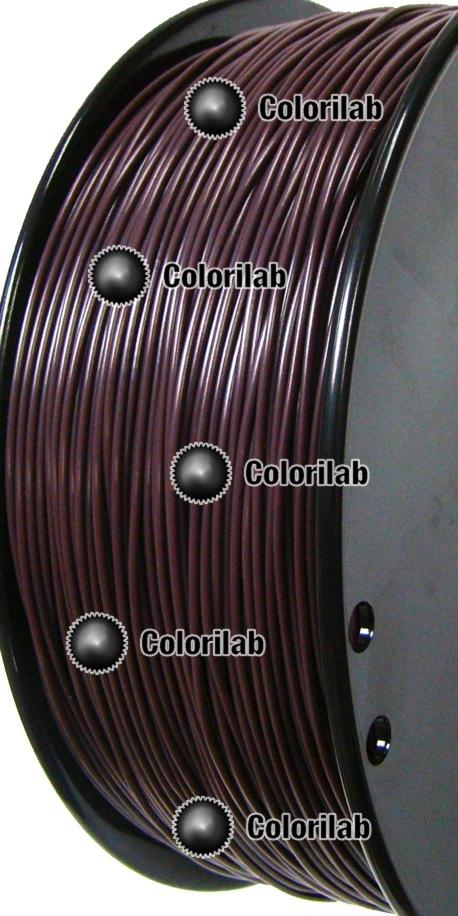 Filament d'imprimante 3D PLA 1.75 mm café 5185 C